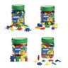Excellerations® Math Manipulatives - 4 Different Sets, 424 Pieces Total