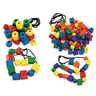 Excellerations® Wooden Lacing Beads - Set of 2