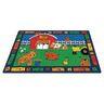 """Alphabet Farm 8'4"""" x 11'8"""" Rectangle Premium Carpet"""