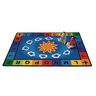 """Sunny Day Learn and Play 8'4"""" x 11'8"""" Rectangle Premium Carpet"""