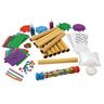Colorations® Rainstick Craft Kit for Kids Pack of 12 Arts and Crafts Project Rainstick Craft Kit - Kit for 12