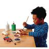 Colorations® Real Rolling Wooden Cars - Set of 12