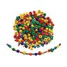 Colorations® Bright Wooden Beads, 1 lb.