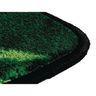 """Bilingual Paint by Numero 9'5"""" x 6'9"""" Oval Premium Carpet"""