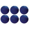 """10"""" Blue Best Quality Rubber Playground Balls - Set of 6"""