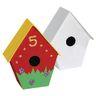 Colorations® Papier-Mâché Birdhouses, Set of 12