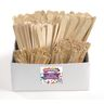 Colorations® Natural Craft Stick Classroom Pack - 1,200 Pieces