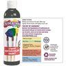 Colorations Glitter Liquid Watercolor™, Orange - 8 oz.