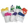 Colorations® Mini Canvas Tote Bags - Set of 24