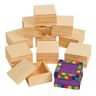 Colorations® Wooden Trinket Boxes - Set of 12