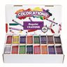 Colorations® Regular Crayons - 16 Colors, Set of 800