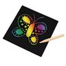 Colorations® Scratch Designs Boards - Set of 100