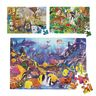 Jumbo Animal Floor Puzzles - Set of 3