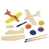 Colorations® Wooden Model Airplanes- Set of 12