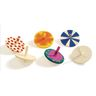 Colorations® Whirling Wooden Tops- Set of 24