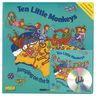 Ten Little Monkeys Big Book & CD Superset