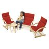 Easy Does It Furniture- Set of 4