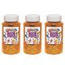 Colorations® Extra-Safe Plastic Glitter, Orange - 3 lbs.