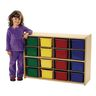 "Angeles Value Line™ Cubbie Storage - 36""W, With Assorted Color Trays"