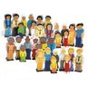 Excellerations® Multicultural Families - Set of 32