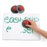 Colorations® Easy-Grip Erasers - Set of 10