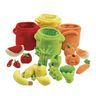 Excellerations® Colorful Plush Fruits & Veggies - 20 Pieces