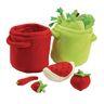 Excellerations® Colorful Plush Fruits & Veggies - 20 Pieces