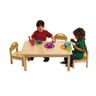 Low Toddler Table & 4 Chairs