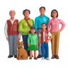 Excellerations® Pretend Play Figures - Extended Asian Family