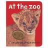 At The Zoo Hardcover Book