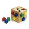 Wooden Shape Sorting Cube - 14 Pieces