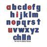 Lowercase Letters Felt Set