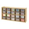 "Angeles Value Line™ Cubbie Storage - 47-3/4""W, With Clear Trays"
