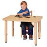 "24"" x 30"" Maple Top Multi-Purpose Rectangle Table"