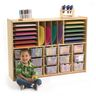 Angeles Value Line™ Multi-Section Storage with Clear Trays