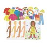 Colorations® Dress Yourself Paper Friends - Makes 50