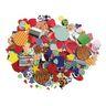 Paper Popz™ Colors & Patterns Pasting Pieces, 1500 pcs.