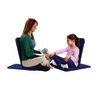 BackJack® Folding Chair - Blue