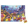 Jumbo Animal Floor Puzzle - Underwater