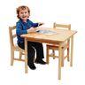 "24"" x 36"" Maple Laminate Table - 18""H"