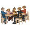"30"" x 48"" Maple Laminate Table - 20""H"