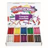 Colorations® Large Triangular Crayon Classpack - Set of 200