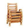 "Angeles® NaturalWood™ Collection Chair - 5""H"