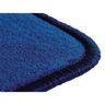 """Solid Color Carpet Blue 5'10"""" x 8'5"""" Rectangle"""