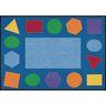 """Geometric Shapes Carpet - 5'10"""" x 8'5"""" Rectangle"""