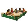 5' x 10' Sandbox with Cover