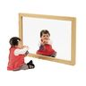 Acrylic Wall Mirror with Hardwood Frame