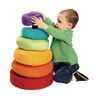 Excellerations® Giant Plush Rainbow Stacking Ring