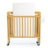 Hardwood Compact Folding Clear View Crib