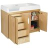 Birch Walk-Up Changing Table